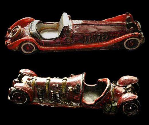 пепельницы ретро-автомобиль, керамика